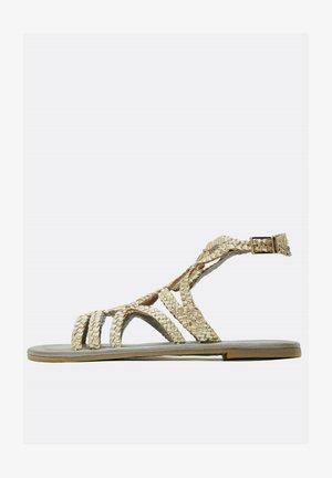 Sandales - gold