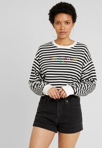 Levi's® - GRAPHIC LONG SLEEVE  - Long sleeved top - cloud dancer - 0