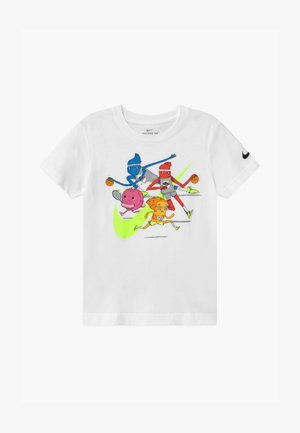 MONSTERS  - T-shirt con stampa - white