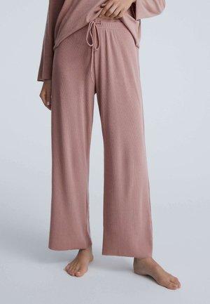 COMFORT RIB - Pyjama bottoms - pink
