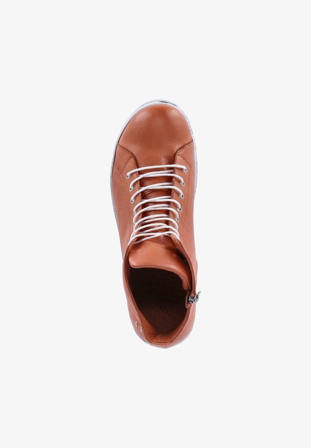 Lace-up ankle boots - rost