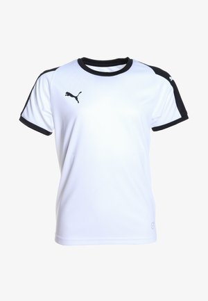 LIGA  - T-shirt sportiva - white/black
