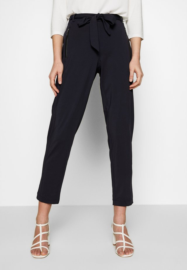 TROUSERS - Trousers - ink blue
