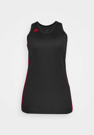 N3XT PREMIUM TEAM AEROREADY - Top - black/team power red