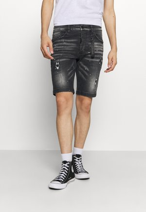 ALESSANDRO ZAVETTI ACARDI - Denim shorts - black wash