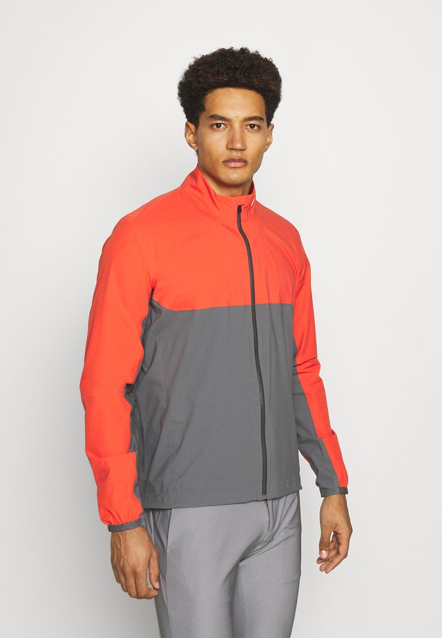 MEN DEXTER JACKET - Outdoorjakke - cabaret red/steel grey