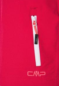 CMP - WOMAN FREE BIKE BERMUDA WITH INNER UNDERWEAR 2-IN-1 - kurze Sporthose - fragola - 3
