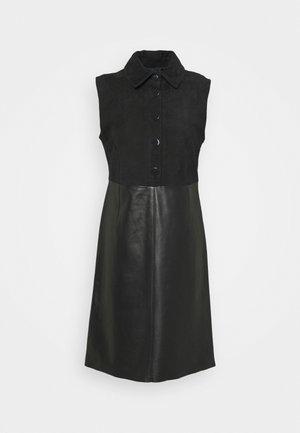 ARRIGO - Skjortekjole - black