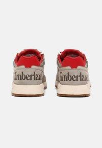 Timberland - FIELD TREKKER - Trainers - grey/red - 2