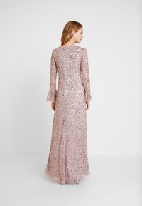 Adrianna Papell - BEADED LONG DRESS - Occasion wear - cameo - 3