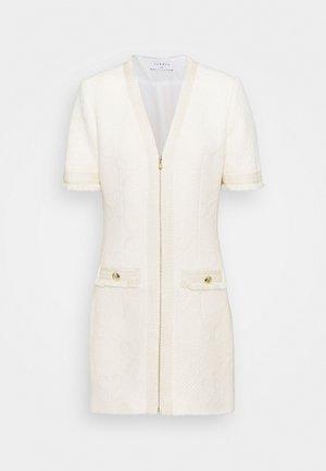 LOUVE - Shift dress - ecru