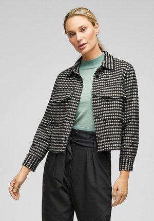 Summer jacket - black check