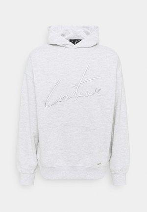 BASIC HOODIE - Sweatshirt - grey marl