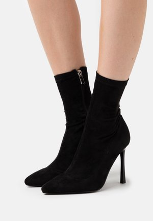 TRINNIE - High heeled ankle boots - black
