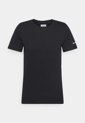 RAPID RIDGE BACK GRAPHIC TEE II - T-shirt con stampa - black summit seeker