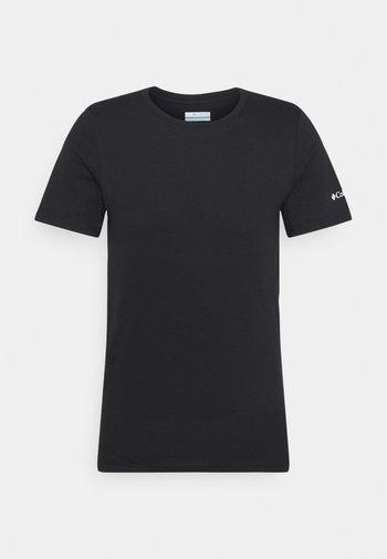 RAPID RIDGE BACK GRAPHIC TEE II - T-shirt imprimé - black summit seeker