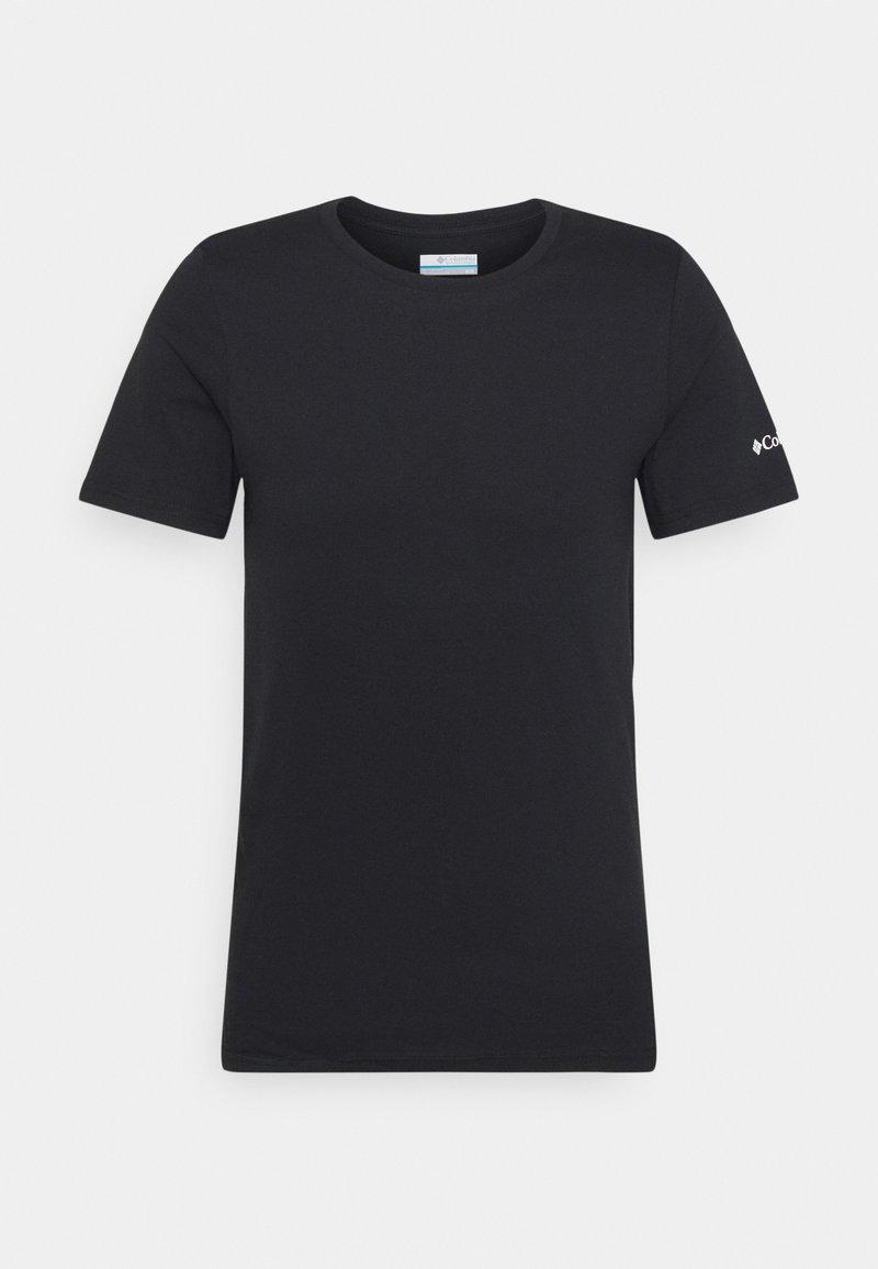 Columbia - RAPID RIDGE BACK GRAPHIC TEE II - T-shirt z nadrukiem - black summit seeker