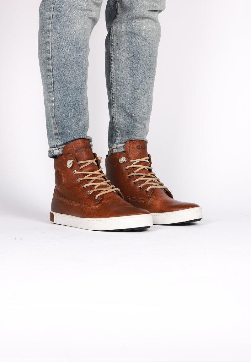 Blackstone - Höga sneakers - old yellow