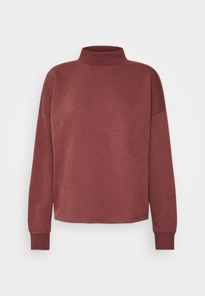 ONLMAGGIE HIGH NECK  - Sweatshirt - sable