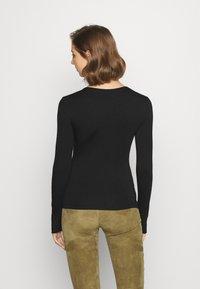 Vero Moda - VMGAIA  - T-shirt à manches longues - black - 2