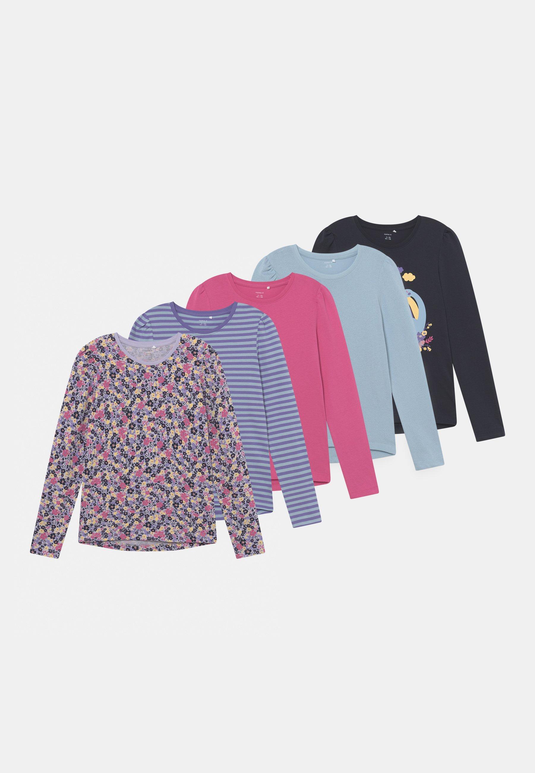 Enfant NKFNAYA 5 PACK - T-shirt à manches longues