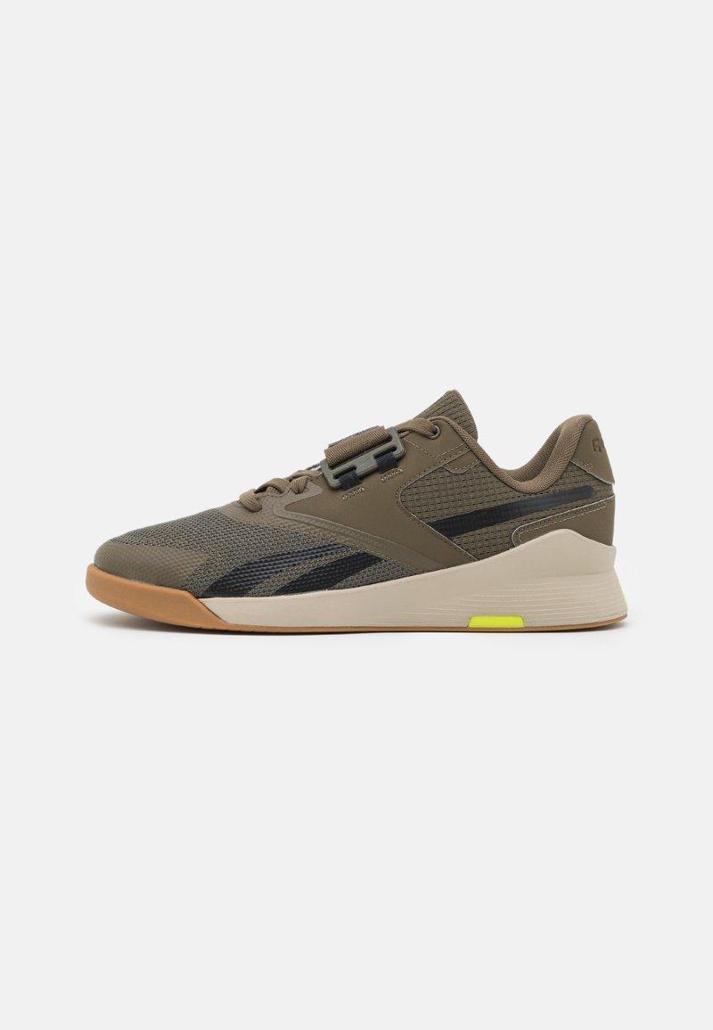 Reebok - LIFTER PR II - Sports shoes - army green/modern beige