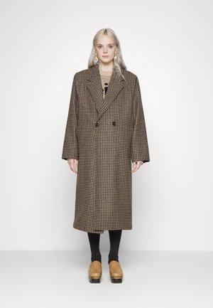 BAMBI CHECK - Classic coat - brown