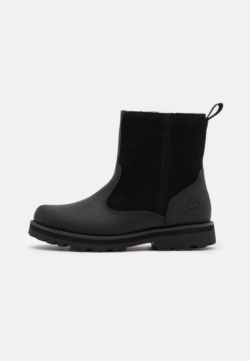 Timberland - COURMA KID UNISEX - Korte laarzen - black