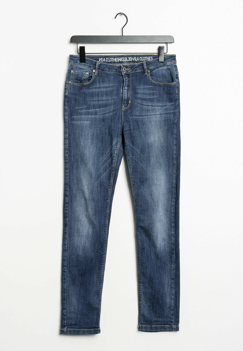 Vila - Slim fit jeans - blue