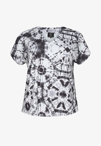 No.1 by Ox - TIEDYE - Print T-shirt - black - 3