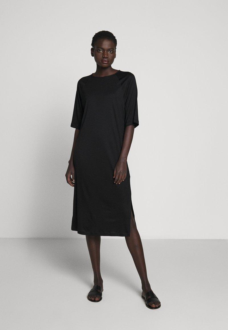 Filippa K - MIRA DRESS - Jersey dress - black