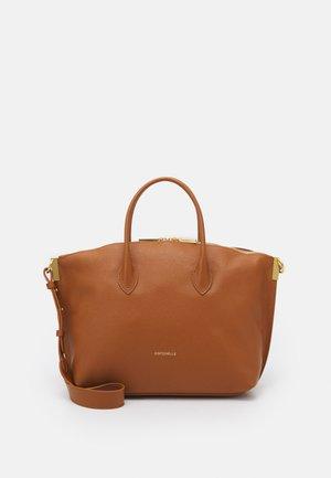 ESTELLE TOP HANDLE - Handbag - caramel