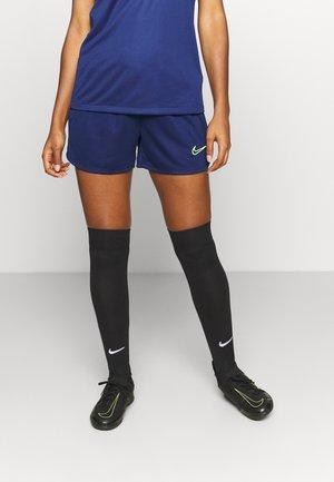 DRY ACADEMY21 SHORT - Sports shorts - blue void/volt