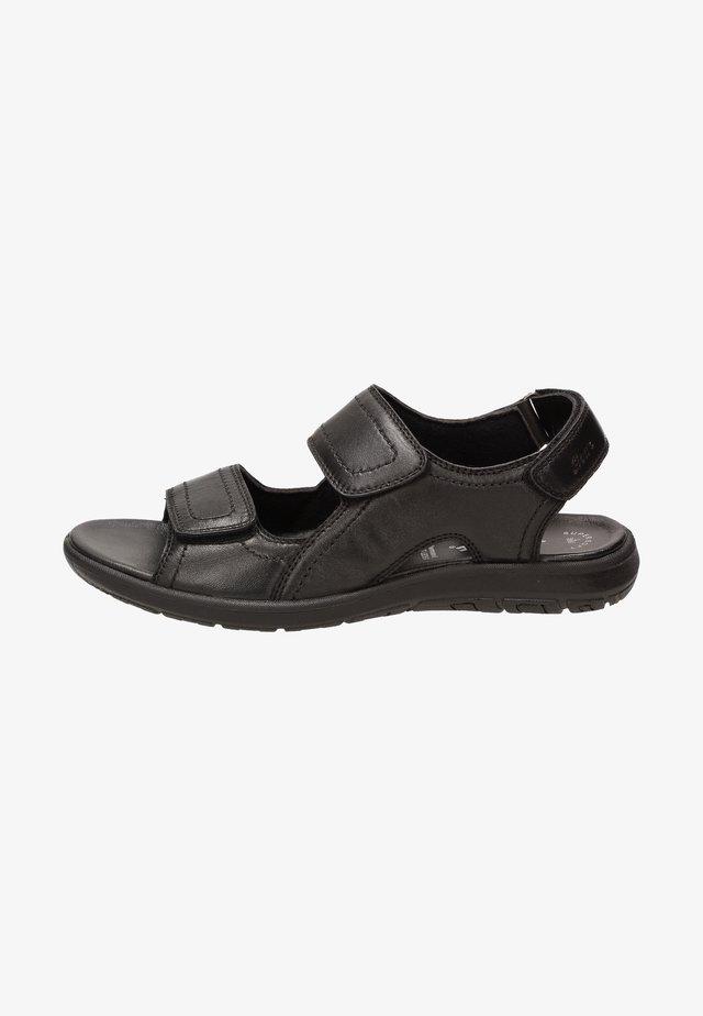 Sandales de randonnée - schwarz