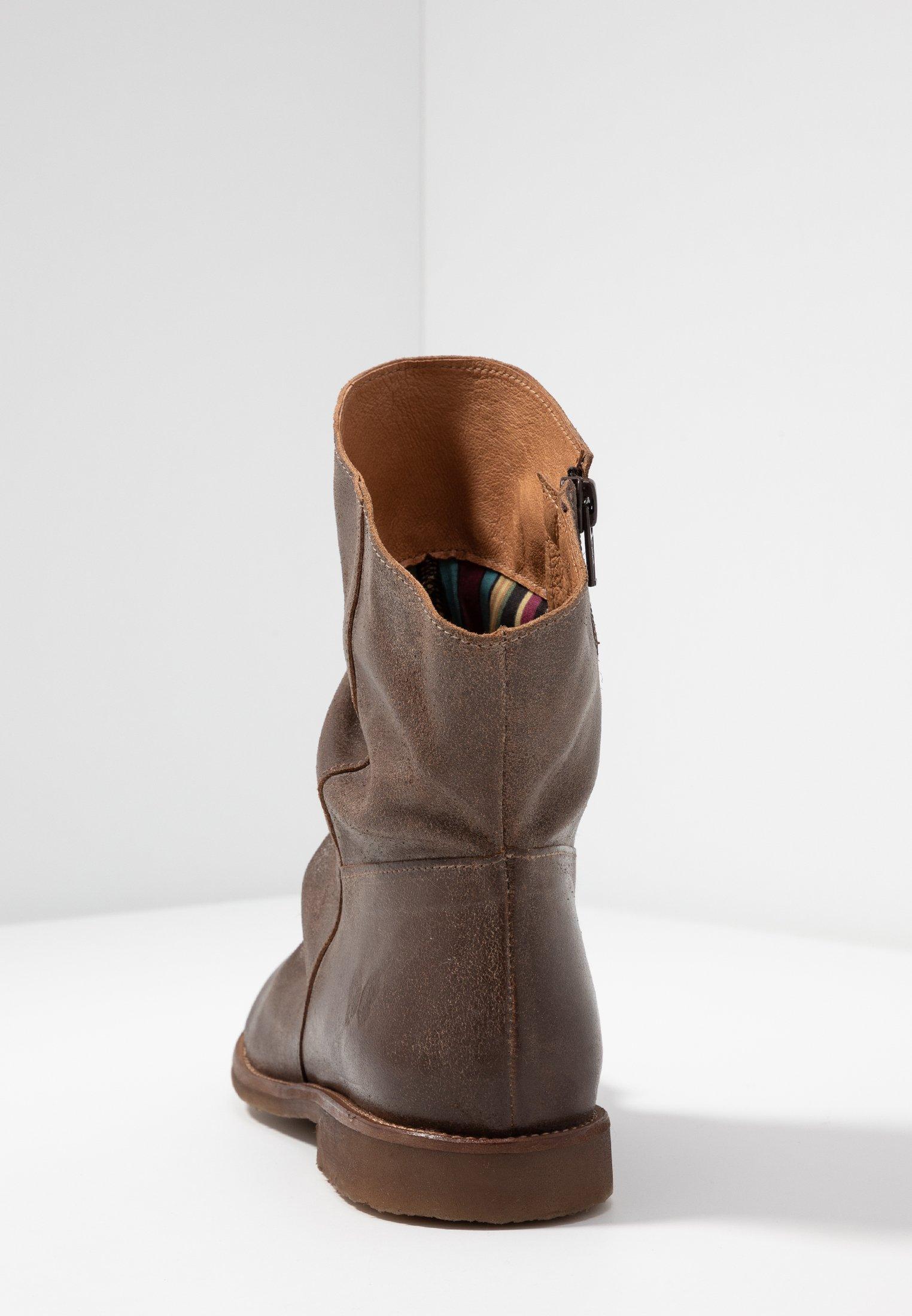 Felmini Wide Fit Clash - Stiefelette Zenia Camel/braun