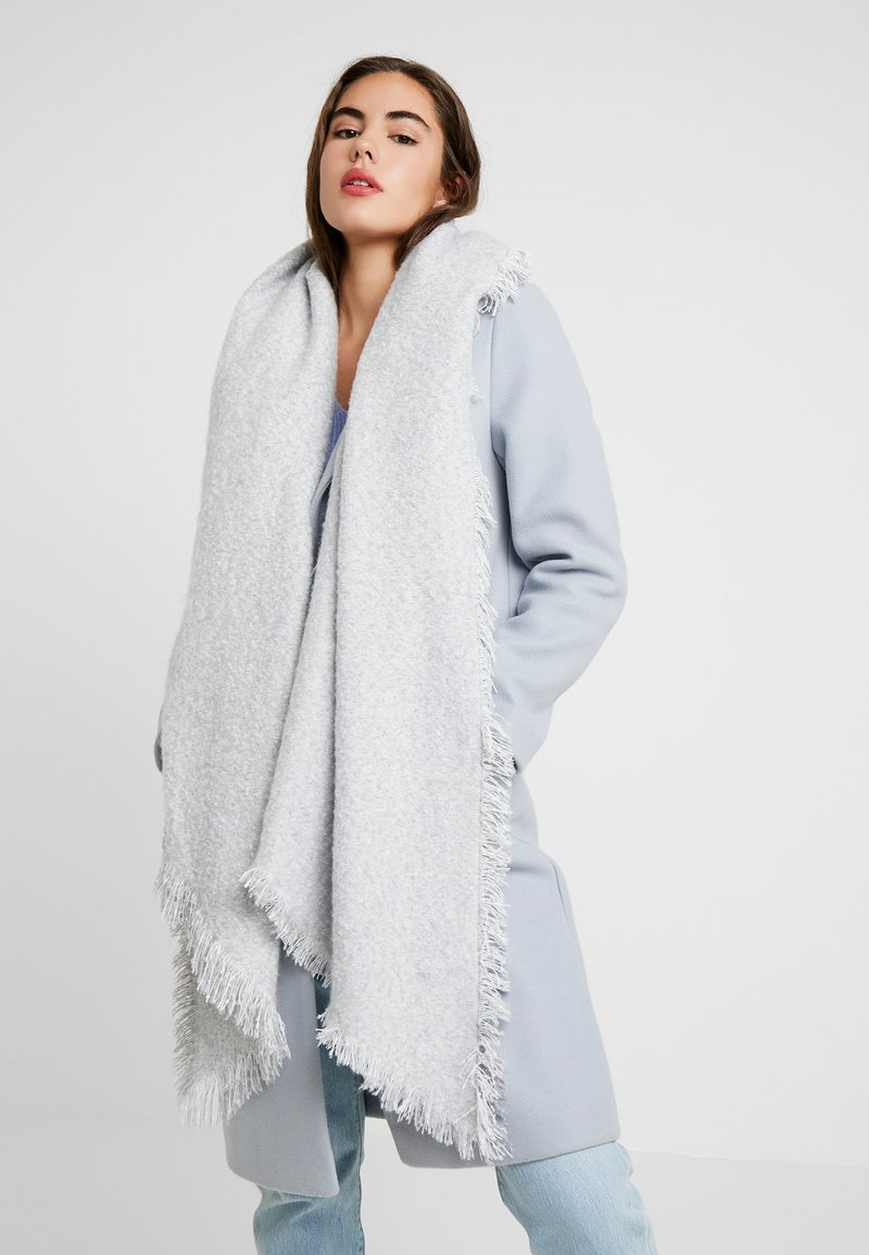 Vero Moda - VMNAISY LONG SCARF - Scarf - light grey melange