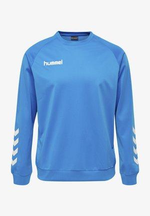 HMLPROMO - Sweatshirt - diva blue