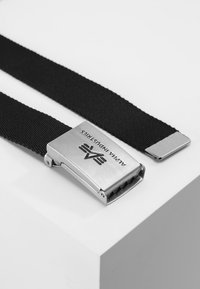 Alpha Industries - BIG A BELT - Belt - black - 2