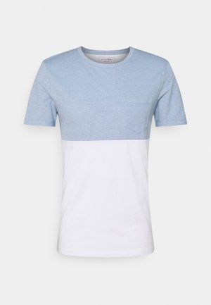 CUTLINE STRUCTURE - Print T-shirt - white