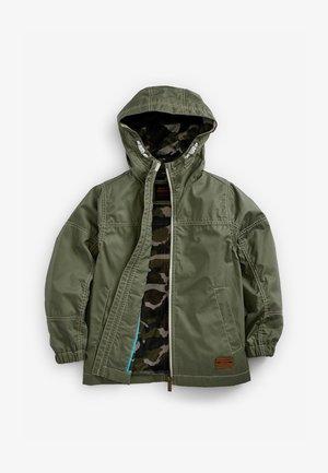 Vodotěsná bunda - khaki