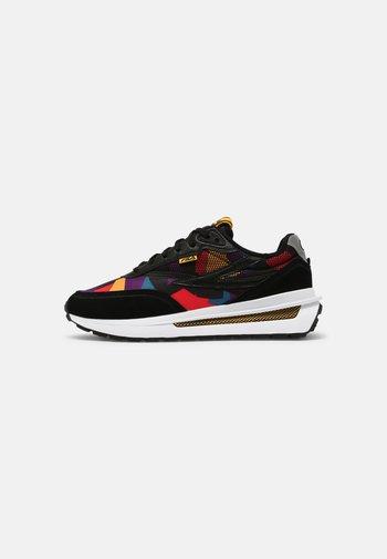 REGGIO 90S - Sneakersy niskie - black/old cold/capri