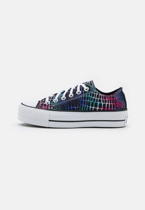 CHUCK TAYLOR ALL STAR LIFT - Baskets basses - pink/court green/white
