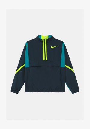 CROSSOVER  - Training jacket - deep ocean/aquamarine/volt