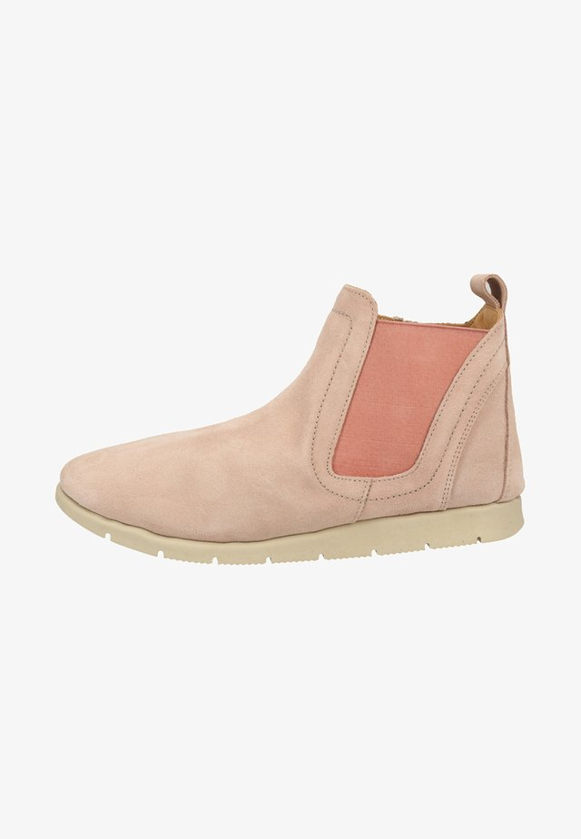 Classic ankle boots - powder pink
