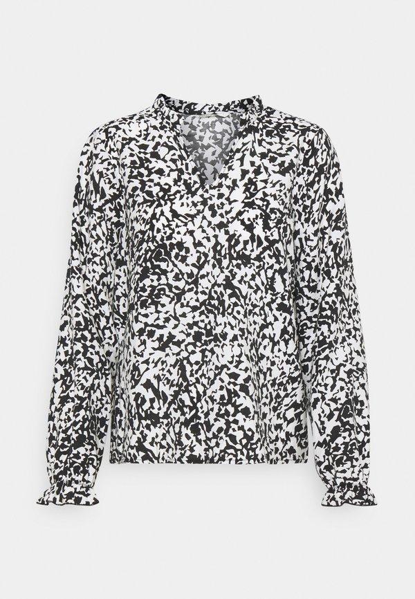 ONLY ONLOLYMPIA - Bluzka z długim rękawem - black/czarny UNEL
