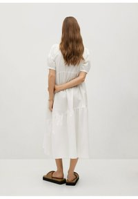 Mango - MED VOLANG - Day dress - offwhite - 1