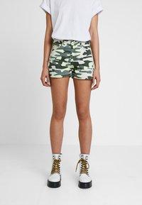 TWINTIP - Denim shorts - green - 0