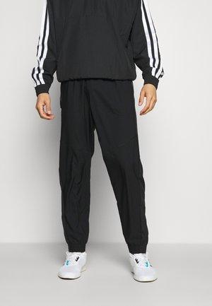 SEASO PANT - Spodnie treningowe - black/white