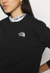 The North Face - OVERSIZED ESSENTIAL CREW - Sweatshirt - black - 5