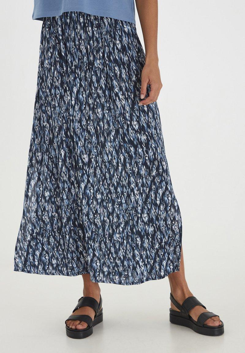 ICHI - Maxi skirt - total eclipse